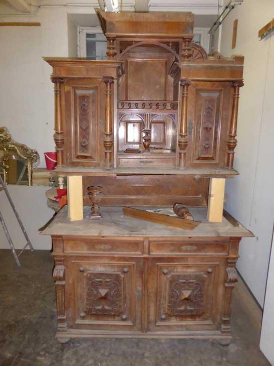 Antikes Möbelstück aus der Gründerzeit alt